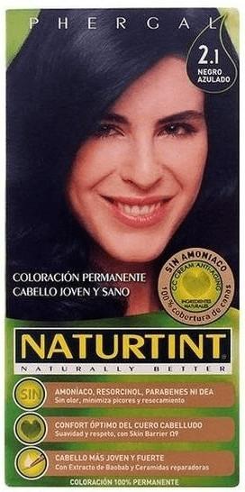 Naturtint Permanente Haarfarbe 2.1 Blauschwarz