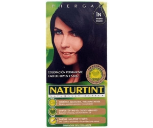 Naturtint Permanente Haarfarbe 1N Ebenholz Schwarz