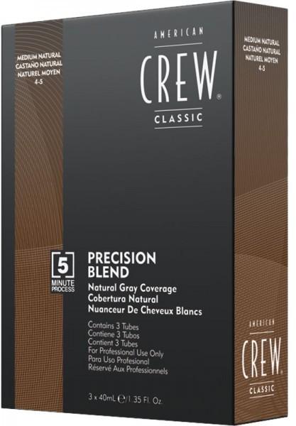 American Crew Precision Blend Natural Grey Coverage medium natural (3 x 40 ml)