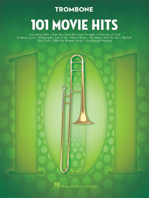 Hal Leonard 101 Movie Hits (Posaune)