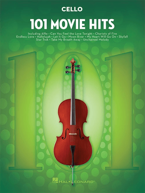 Image of Hal Leonard 101 Movie Hits (Cello)