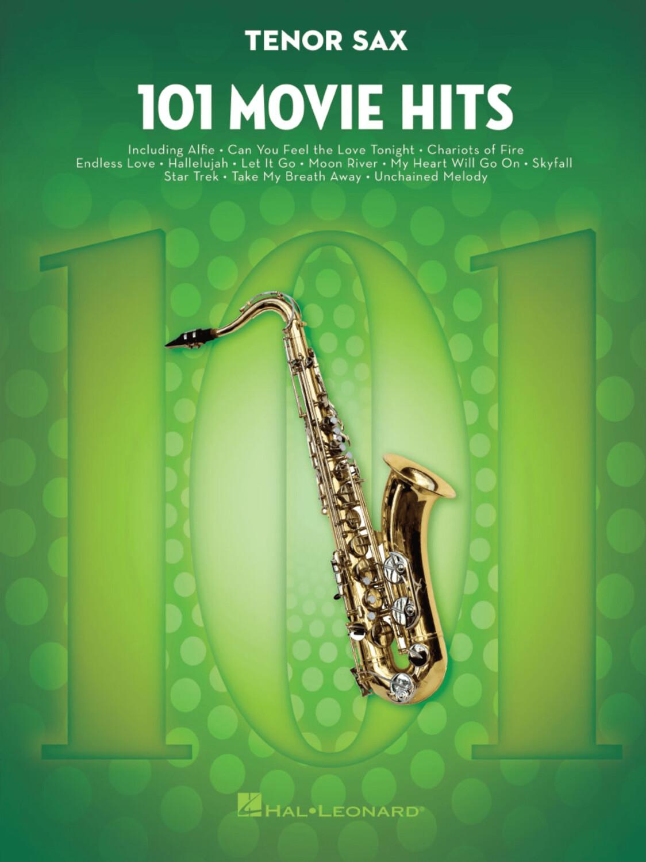 Image of Hal Leonard 101 Movie Hits (Tenor Saxophone)