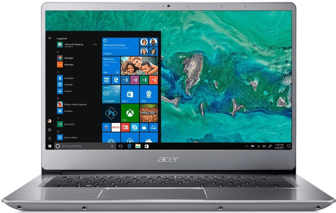 Acer Swift 3 SF314-54 Silber Notebook 35,6 cm (14 Zoll) 1920 x 1080 Pixel 1,60 GHz Intel® Core™ i5 der achten Generation i5-8250U