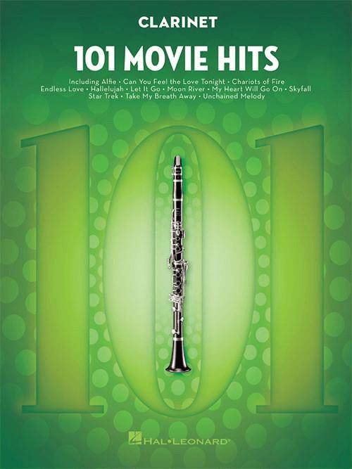 Image of Hal Leonard 101 Movie Hits (Clarinet)