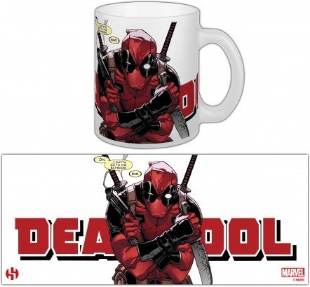 Image of Semic Marvel Comics Cup Deadpool Have To Go 300 ml