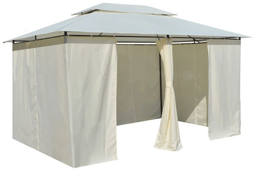 Image of VidaXL Gazebo white (4 x 3 m)