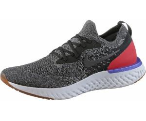55b3cbe46535 Buy Nike Epic React Flyknit Black White Red Orbit Black from £99.00 ...