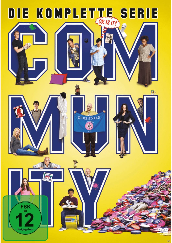 Community - Die komplette Serie [DVD]