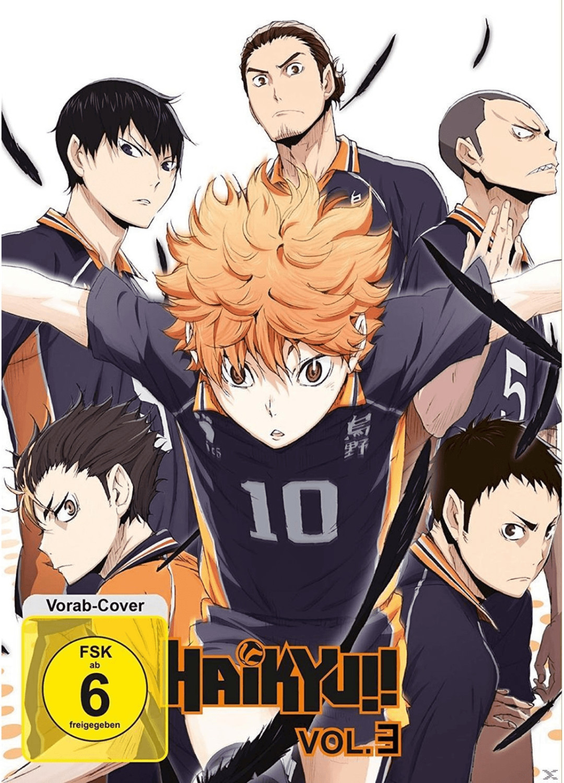 #Haikyu!! Vol.3 – Episode 13-18 [DVD]#