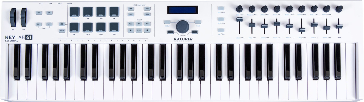 Image of Arturia KeyLab Essential 61