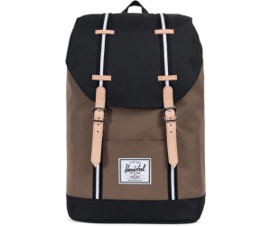 8f73869b39 Buy Herschel Retreat Backpack cub black white from £75.63 – Compare ...