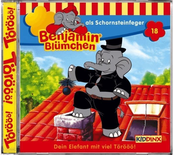 Benjamin Blümchen - 18: als Schornsteinfeger