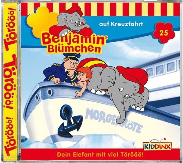 Benjamin Blümchen - 25: auf Kreuzfahrt [Hörbuch...