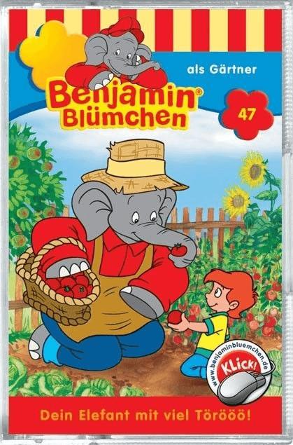 Benjamin Blümchen - 47: als Gärtner [Hörbuchkas...