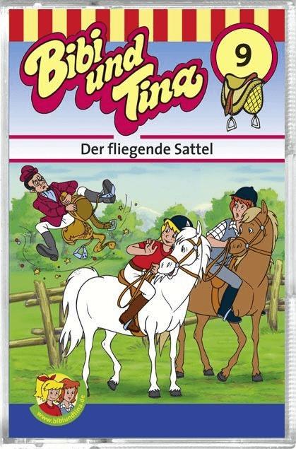 Bibi und Tina - 09: Der fliegende Sattel [Hörbu...
