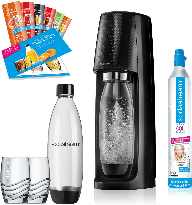 SodaStream Easy schwarz Promopack