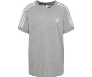 lowest price size 7 performance sportswear Adidas Damen 3-Streifen T-Shirt medium grey heather (CY4982 ...