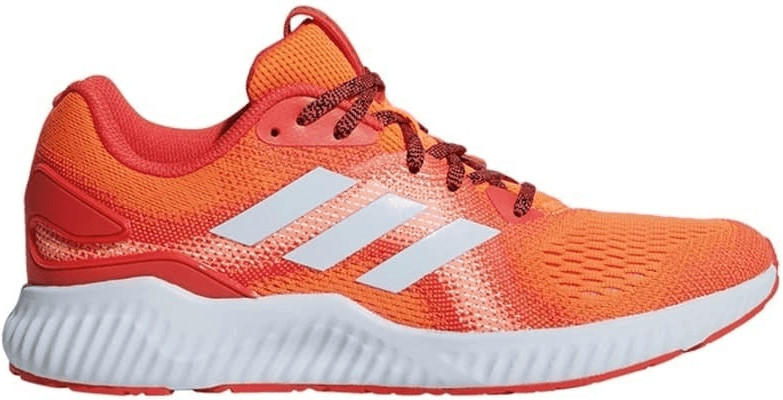 Zapatilla Adidas mujer BW1239 AEROBOUNCE ST W naranja con cordones