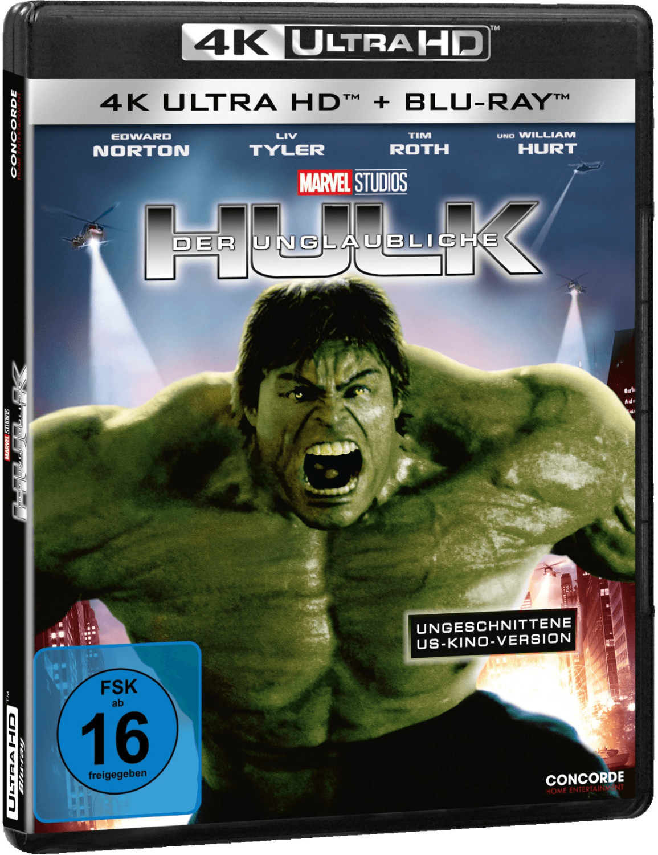 Der unglaubliche Hulk (ungeschnittene US-Kino-V...