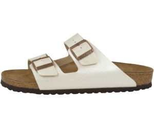 Birkenstock Arizona Birko Flor graceful pearl white ab 50,08