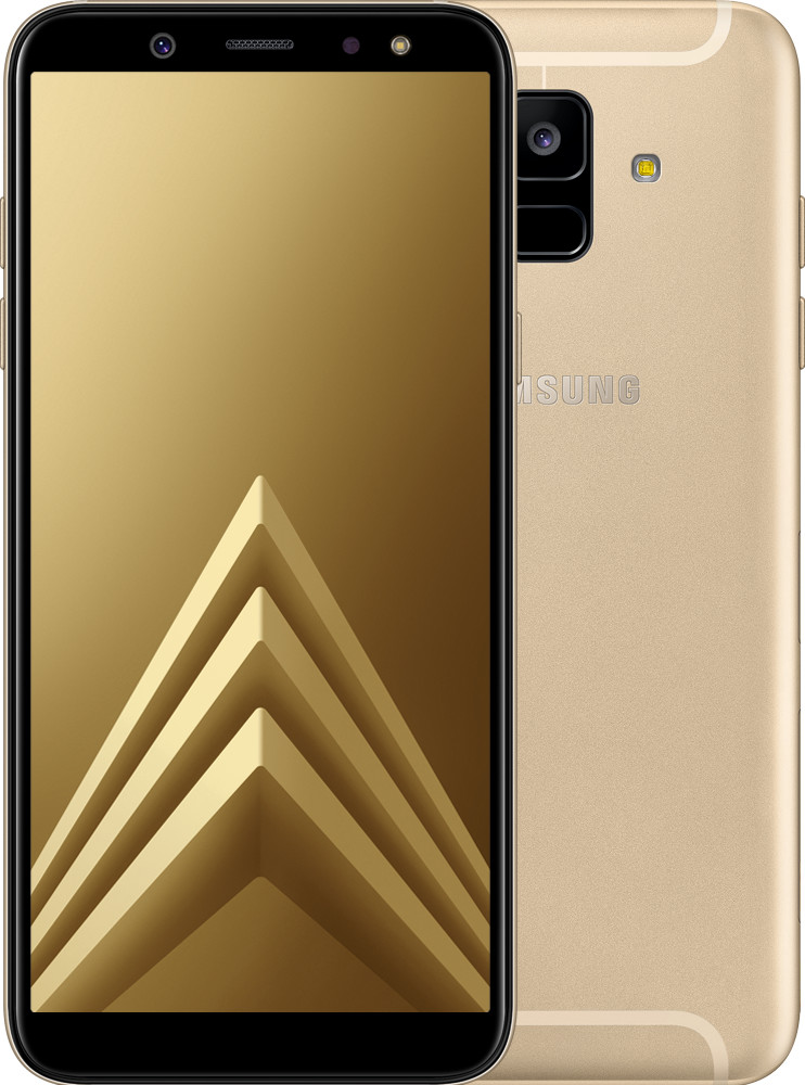 samsung galaxy a6 2018 a600f dual sim gold top zustand. Black Bedroom Furniture Sets. Home Design Ideas