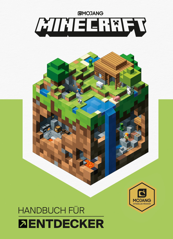 Minecraft, Handbuch für Entdecker (Mojang) [geb...