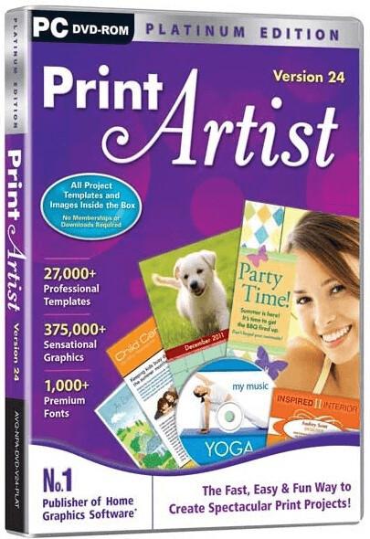 Image of Avanquest Print Artist Platinum 24 (EN)