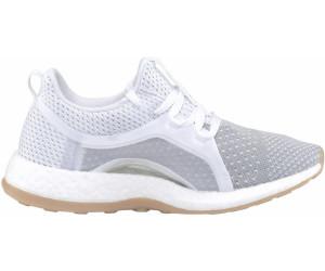 online store c6139 ebdfa Adidas PureBOOST X Clima W ftwr whitesilver metallicgrey two