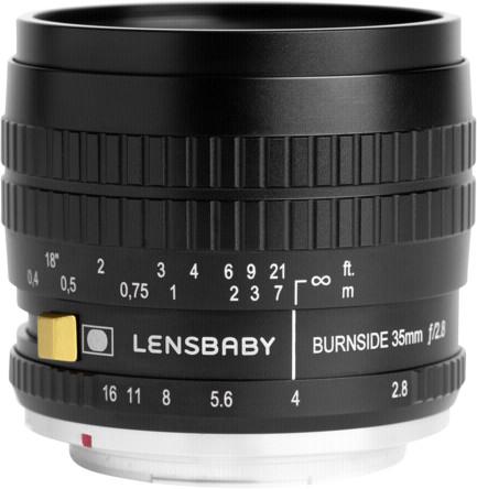 Image of Lensbaby Burnside 35 Nikon F