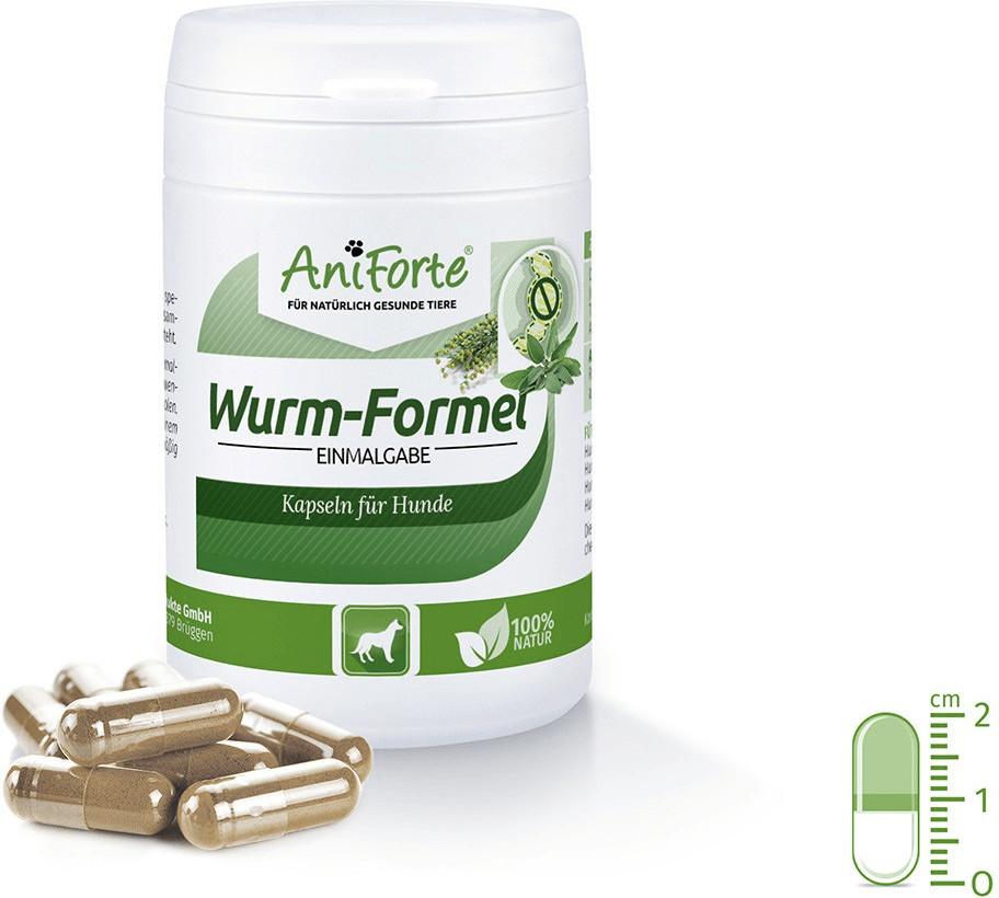 AniForte Wurm-Formel Einmalgabe für Hunde 50 Ka...