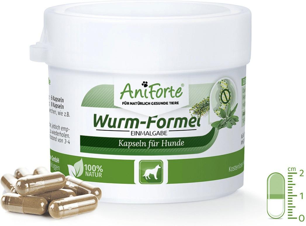 AniForte Wurm-Formel Einmalgabe für Hunde 10 Ka...