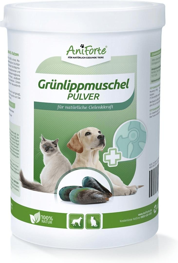 AniForte Grünlippmuschel-Pulver natürliche Gele...
