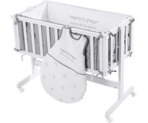 Roba room bed anstellbettchen rock star baby 2 weiß ab 135 99