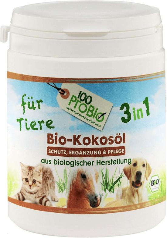 100ProBio Kokosöl für Tiere 250ml