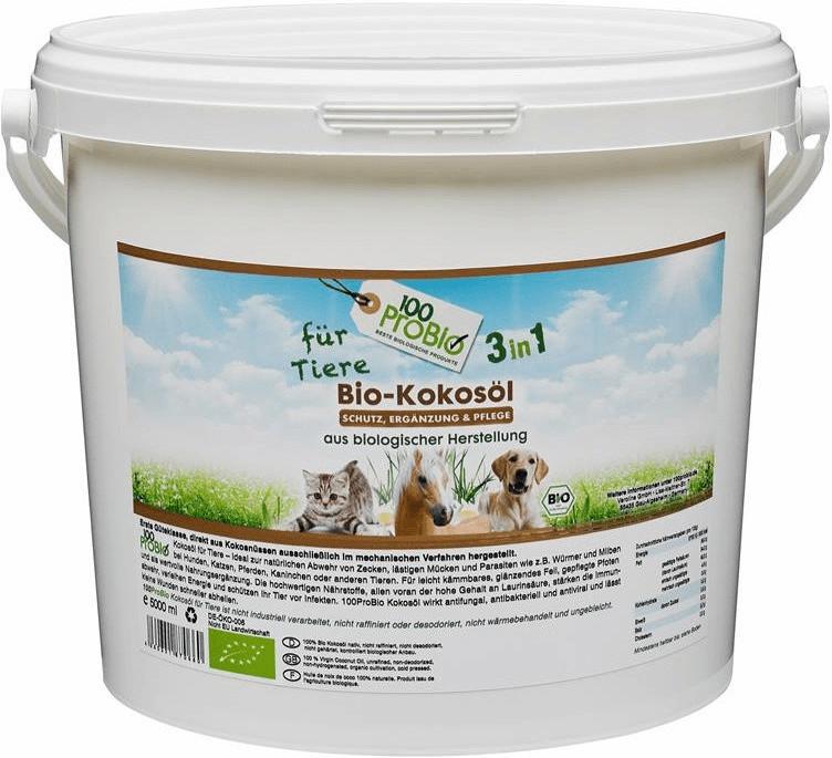 100ProBio Kokosöl für Tiere 2,5L
