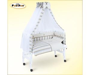 fabimax beistellbett pro mit vollausstattung matratze comfort wei emily beige ab 149 90. Black Bedroom Furniture Sets. Home Design Ideas