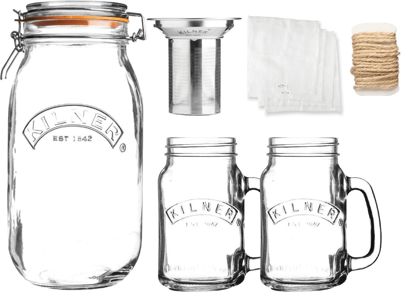 Image of Kilner Cold Brew Coffee Set