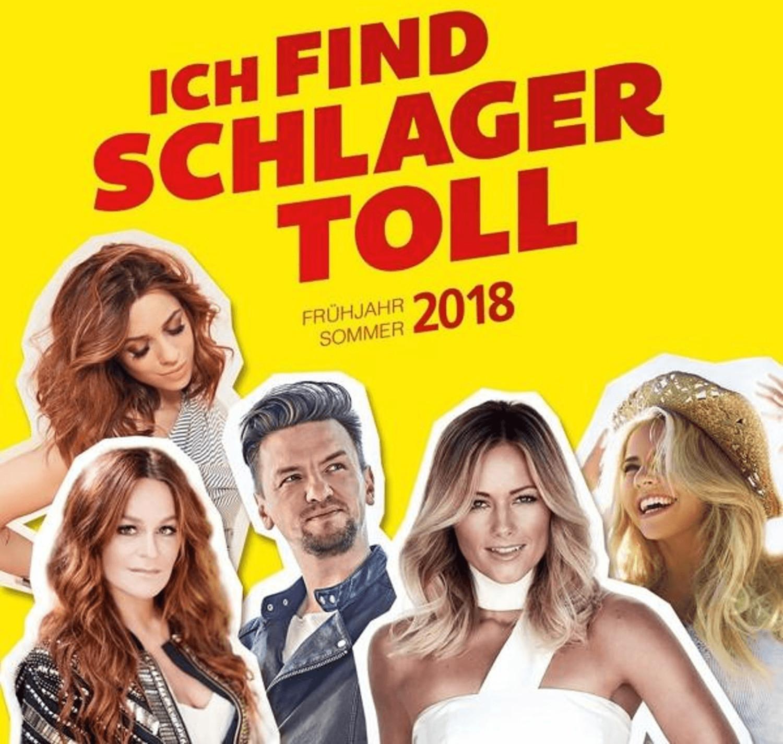 Ich find Schlager toll - Frühjahr/Sommer 2018 (CD)