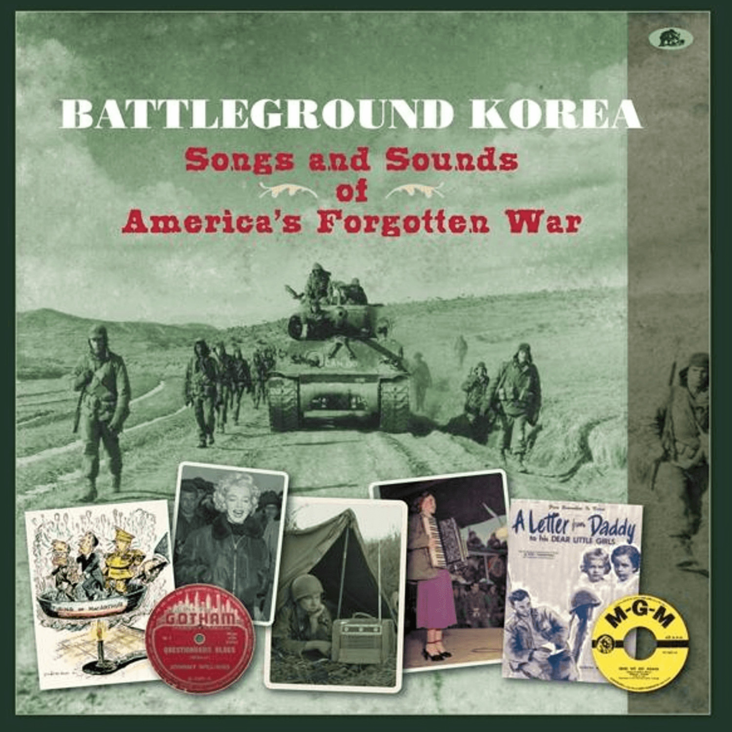 Battleground Korea - Songs and Sounds of America´s forgotten War (CD)