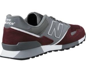 new balance u446 schwarz rot