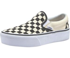 229ad7851361 Buy Vans Vans Classic Slip-On Platform black white chckerboard-white ...