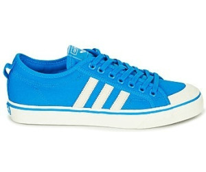 Adidas Nizza whiteftwr bright blueftwr white Canvas ab 36 mnv0wy8NO