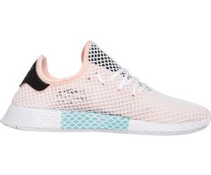 0e24476133fea5 Adidas Deerupt Runner white core black ftwr white. Adidas Deerupt Runner