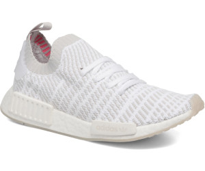 superior quality 2018 sneakers latest design Adidas NMD_R1 STLT Primeknit ftwr white/grey one/solar pink ...
