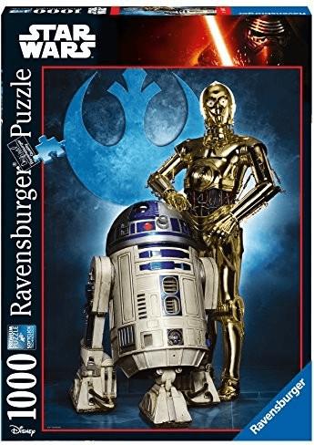 Puzzle 1000 star wars droidi Ravensburger