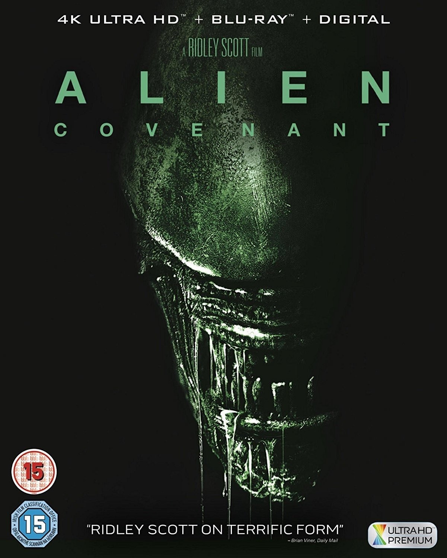 Image of Alien: Covenant (4K UHD + Digital Download) [Blu-ray] [2017]