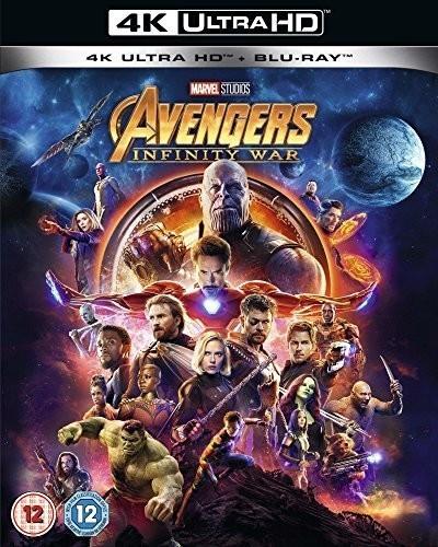 Image of Avengers: Infinity War (4K UHD) [Blu-ray] [2018]