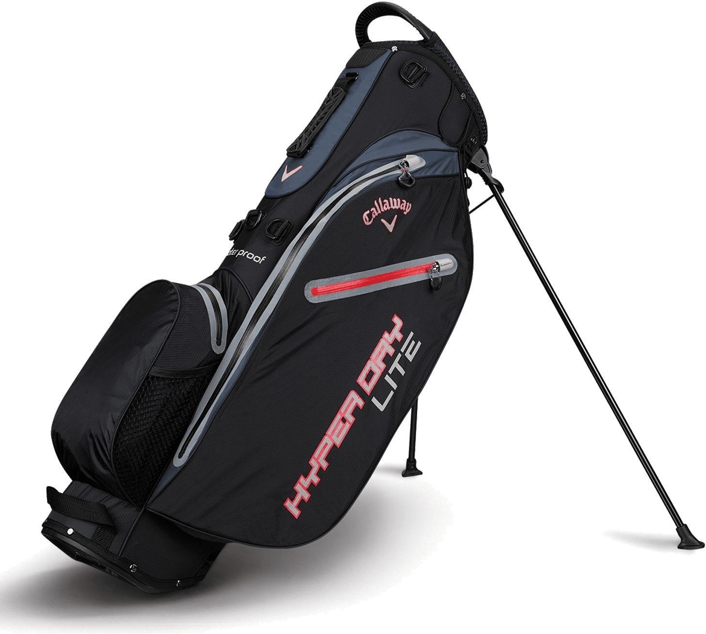 Callaway Hyper Dry Lite Standbag black/titanium/red