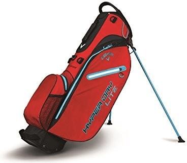 Callaway Hyper Dry Lite Standbag red/black/neon blue