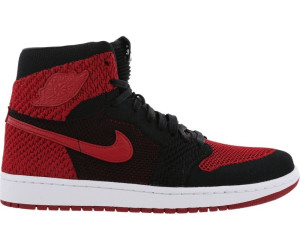 7f7baccc3cac2b Nike Air Jordan 1 Retro High Flyknit black white varsity red ab 136 ...
